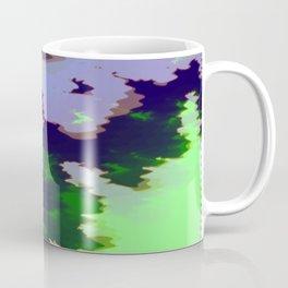 Green fire on the desert plains Coffee Mug