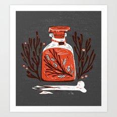 Symbol Jar Art Print