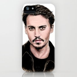 J Depp iPhone Case