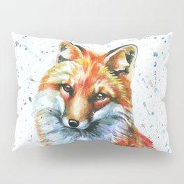 FOX 2 watercolor Pillow Sham