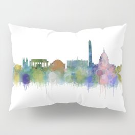 Washington City Skyline Pillow Sham