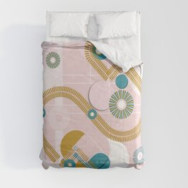 Golden arches Comforters