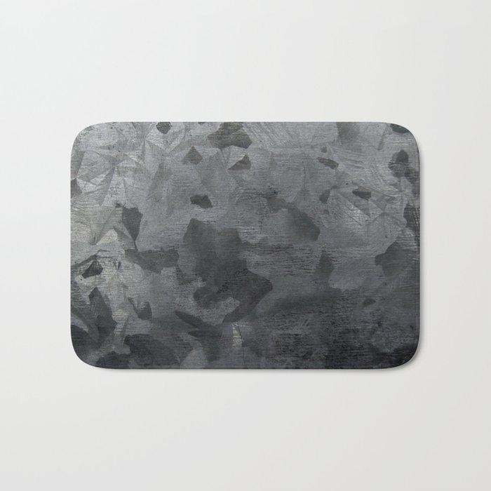 Grey texture Bath Mat