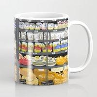 pasta Mugs featuring Pasta Land by Teddy Kang's Art