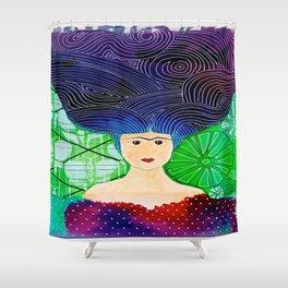 Frida mar Shower Curtain