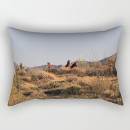 The Bachelors Rectangular Pillow