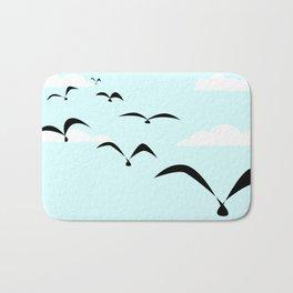 The Birds Bath Mat