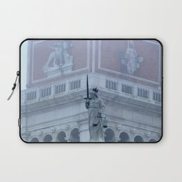 Justice on St Mark's Square Laptop Sleeve