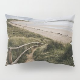 A day at the beach - Landscape and Nature Photography Pillow Sham