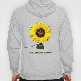 ORGANIC INVENTIONS SERIES: Vintage Flower Desk Fan Hoody