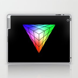 Triangle vs. Cube Laptop & iPad Skin