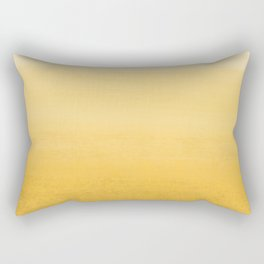 Yellow Marigold_Abstract Brush Strokes Painting collection Rectangular Pillow