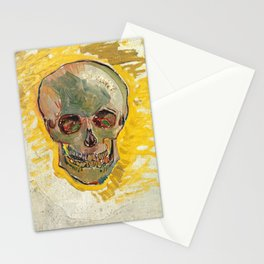 Skull by Vincent van Gogh, 1887 Stationery Cards