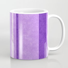 Retro Vintage Lilac Grunge Stripes Coffee Mug