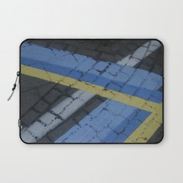 color stripe angles Laptop Sleeve