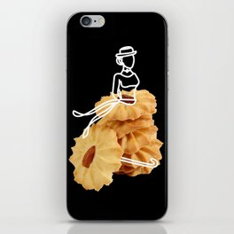 Parasol Cookies iPhone Skin