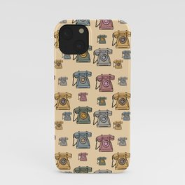 Who's Ringing On The Telephone? iPhone Case
