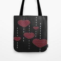 Heart Drops Tote Bag