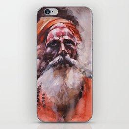 Swami, Spirit Master iPhone Skin
