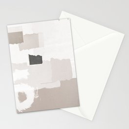 Keyhole Paper Collage Stationery Cards