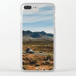 free to roam Clear iPhone Case