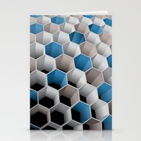 honeycomb Stationery Cards featuring Honeycomb by amanvel
