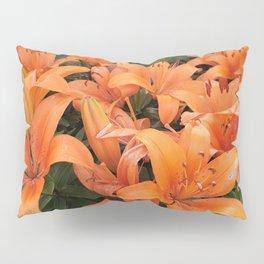 Orange Lillies Pillow Sham