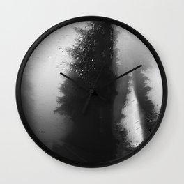 What Lies Down Hidden Rain Drenched Paths Wall Clock