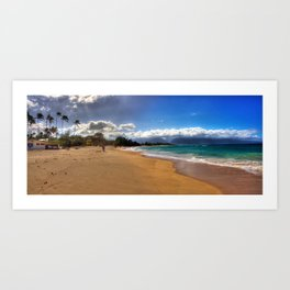 Baldwin Beach North Shore Maui, Hawaii Art Print