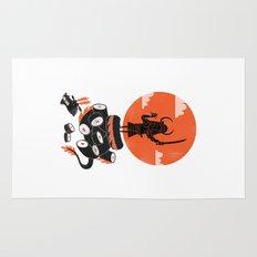 Samurai Sushi Rug