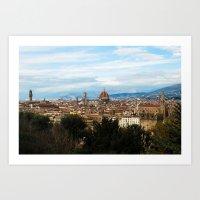 Florence, Italy, 2009 Art Print