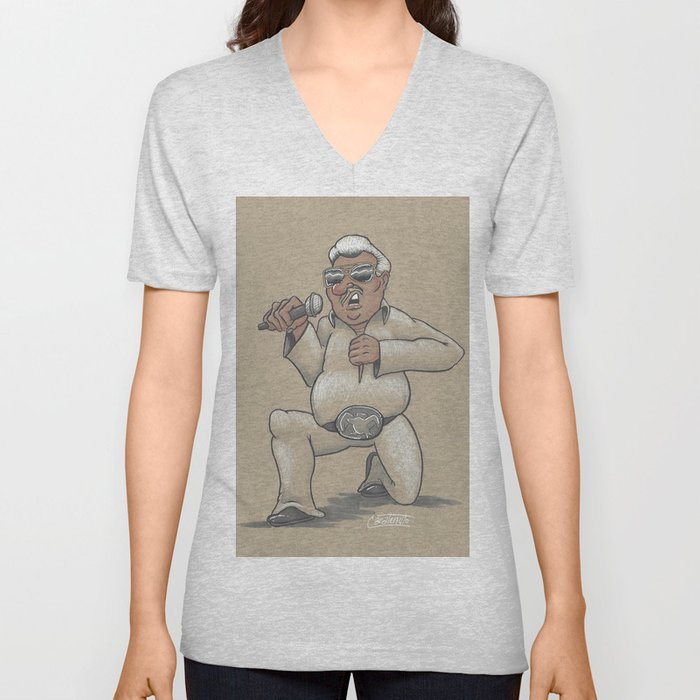 Captain Karaoke Unisex V-Neck
