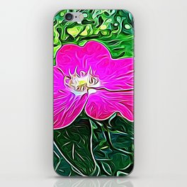 Magenta Flower of Harmony iPhone Skin