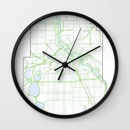 BIKE MPLS Wall Clock