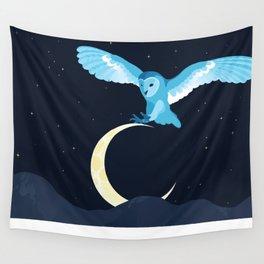 Night Owl Wall Tapestry