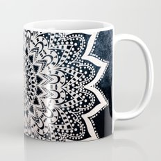 BLUE BOHO NIGHTS MANDALA Coffee Mug
