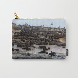 Three Penuins Carry-All Pouch