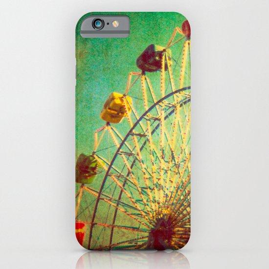 The Unbearable Elation of Summer carnival ferris wheel  iPhone & iPod Case