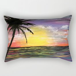 Sunset Sea Rectangular Pillow