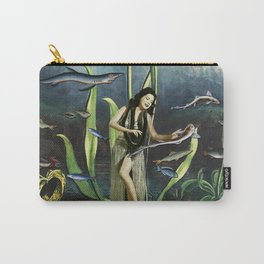 VAHINE AND SPACE ROCKET Carry-All Pouch