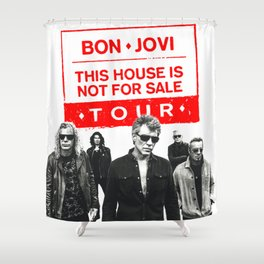 BON JOVI NOT FOR SALE TOUR 2018 CUPU Shower Curtain