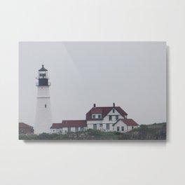 Portland Light Metal Print