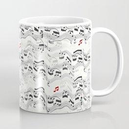 Wavy Musical Pattern Coffee Mug