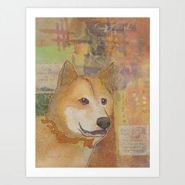 """The """"Little Brushwood"""" Dog Art Print"""