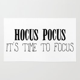 Hocus Pocus Time to Focus Rug