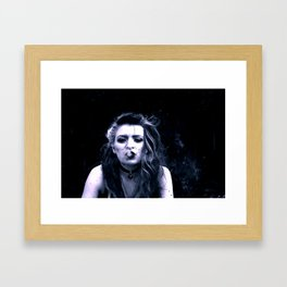 Uplifting haze Framed Art Print