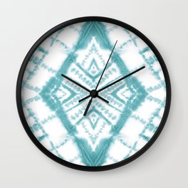 Dye Diamond Sea Salt Wall Clock