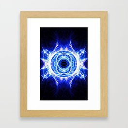 Frosty Eye Framed Art Print