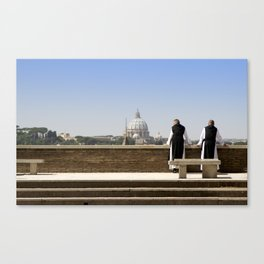 Monks Canvas Print
