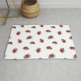 Ladybugs pattern Rug